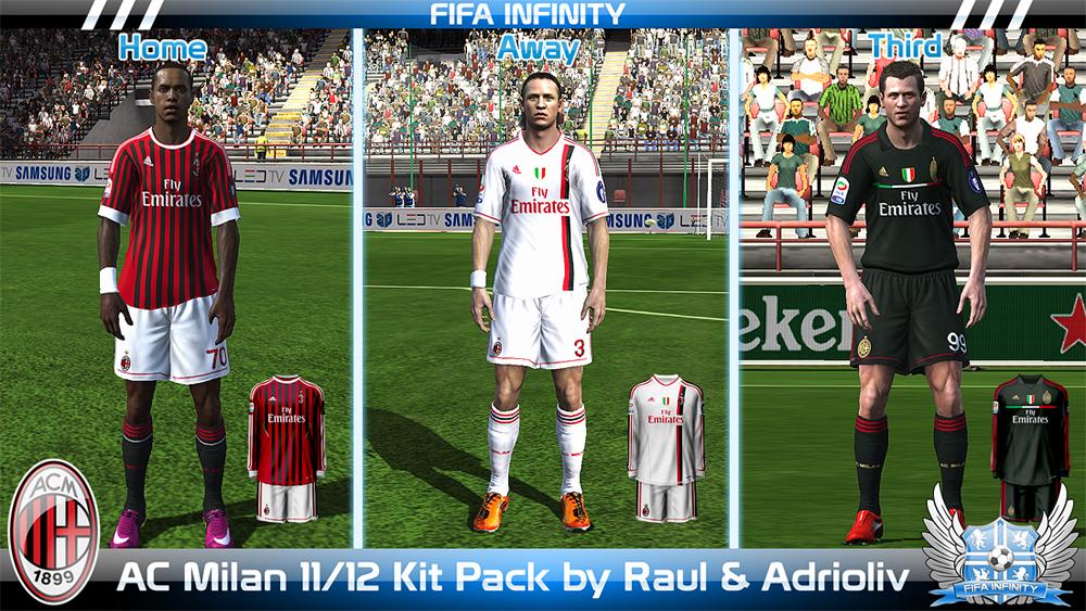 Полный комплект форм для fifa 14 одной из сильнейшей команды планеты - атле